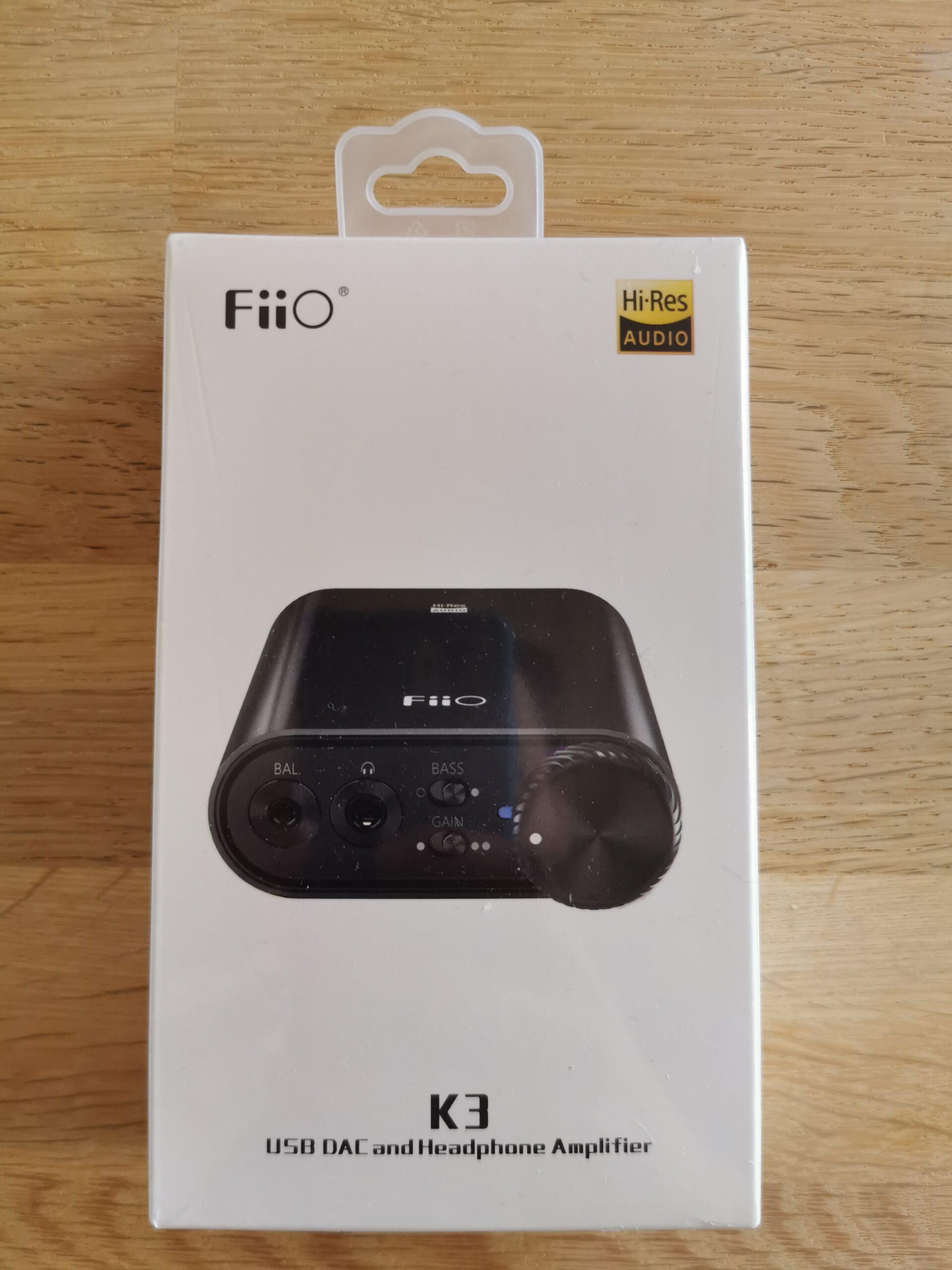 Fiio K3 emballage