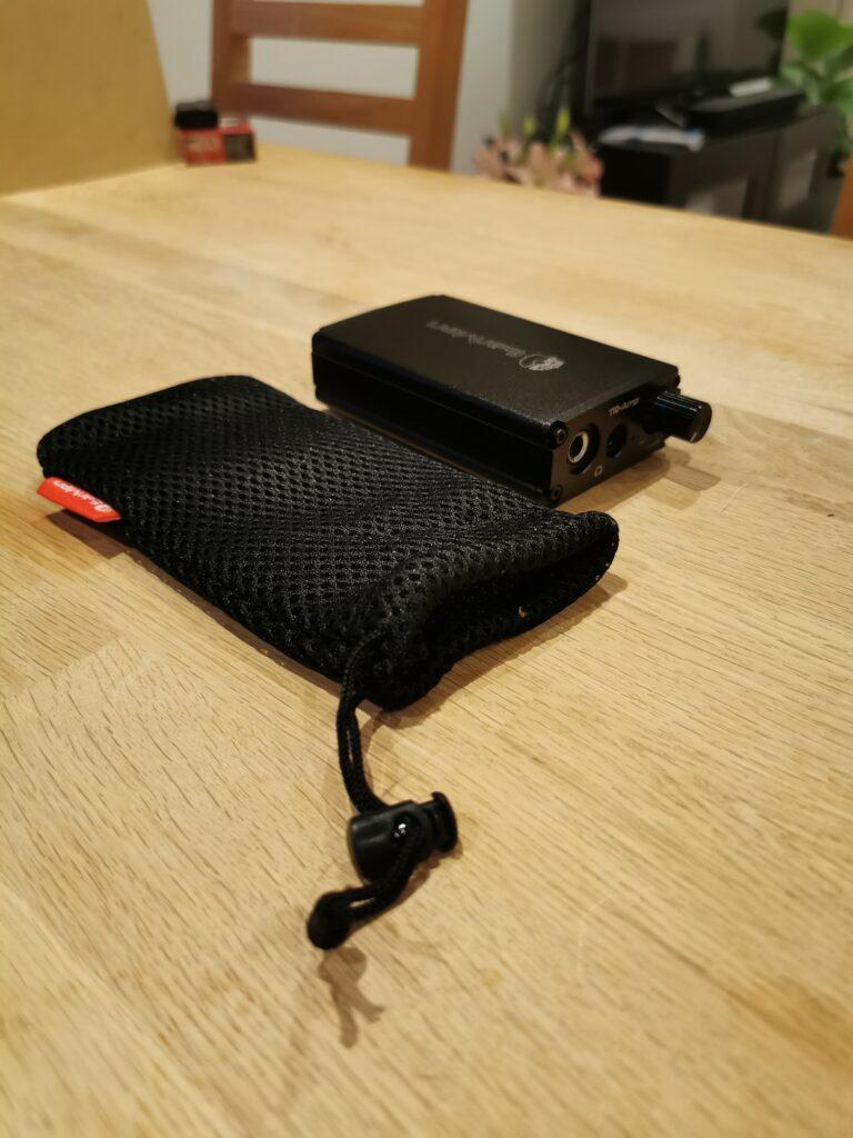 Earmen Tr-Amp DAC med etui