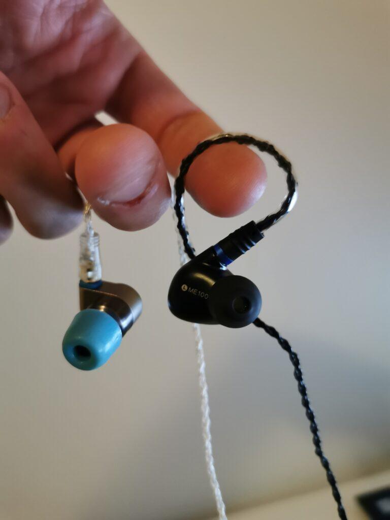 in-ear høretelefoner fra Shanling og Linsoul