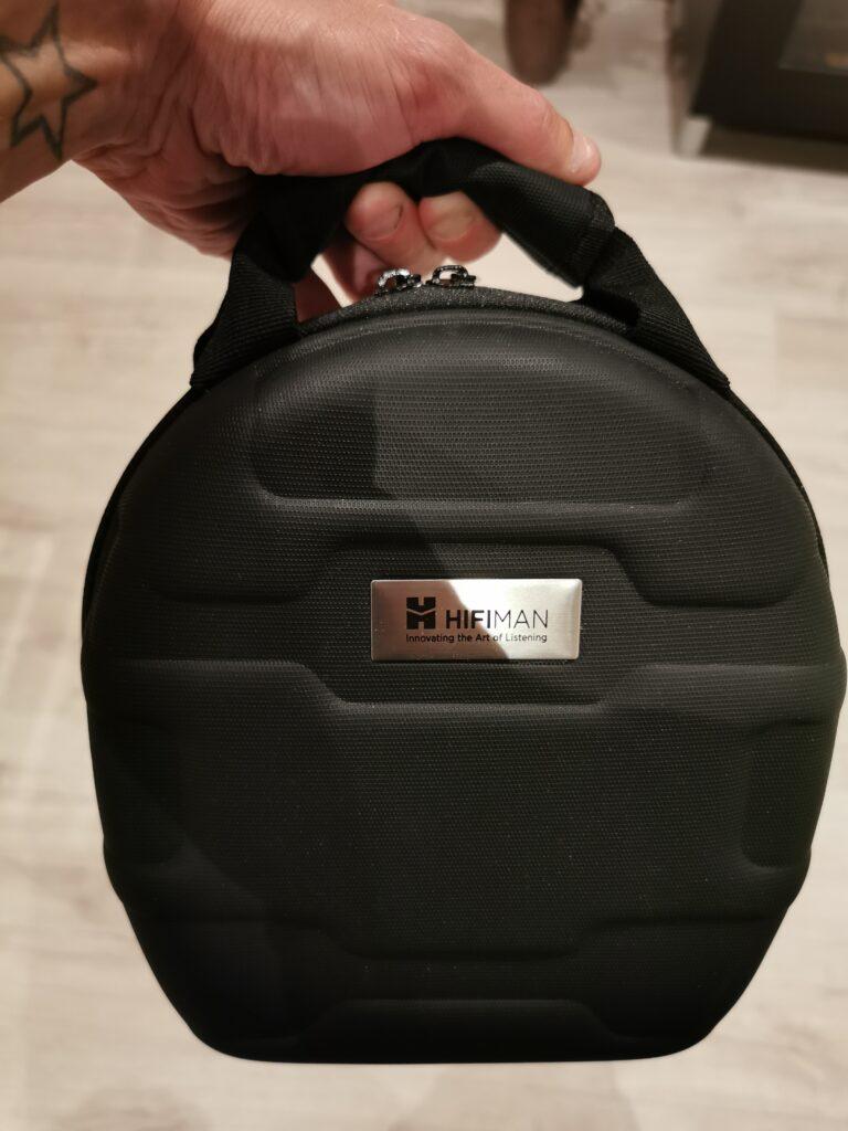 Hifiman Ananda BT taske med Hifiman logo